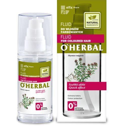 O'herbal fluid do włosów farbowanych z ekstraktem z macierzanki tymianku 50ml marki Elfa pharm