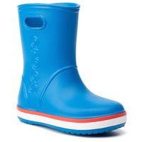 Kalosze - crocband rain boot k 205827 bright cobalt/flame marki Crocs