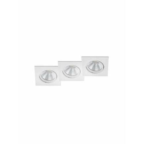 Trio pamir 650410331 oczko komplet 3 sztuki ip23 3x5,5w led 3000k biały mat