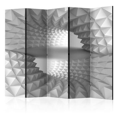 Artgeist Parawan 5-częściowy - strukturalny tunel ii [room dividers]