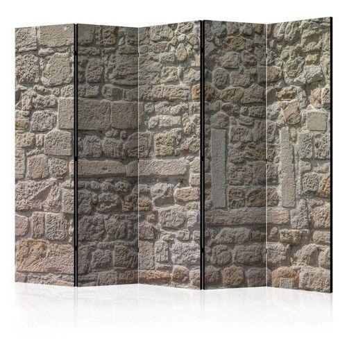 Parawan 5-częściowy - kamienna świątynia ii [room dividers] marki Artgeist