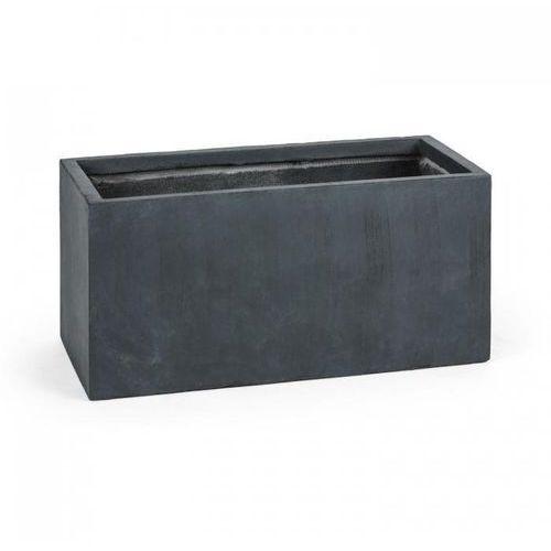 Blumfeldt solidflor doniczka/pojemnik na rośliny 79,5x38x38 cm fiberton antracyt (4260457480251)