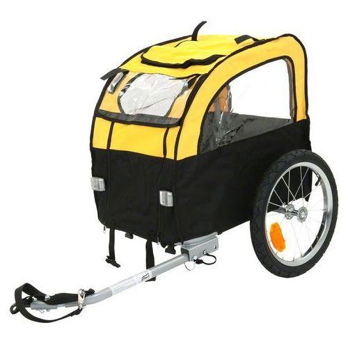 Przyczepka rowerowa mini bee - dł. x szer. x wys.: 105 x 58 x 73 cm / do 25 kg marki Zooplus exclusive
