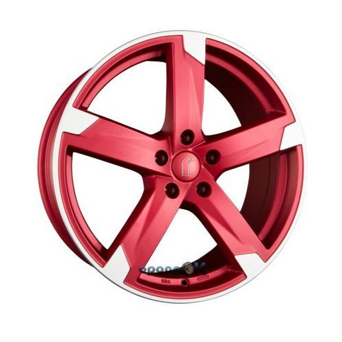 RONDELL 01RZ Metallic Rot Matt Poliert Einteilig 8.00 x 19 ET 45