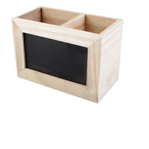 Drewniane pudełko z tabliczką marki Creativehobby