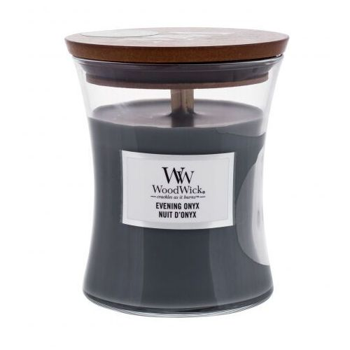 WoodWick - Evening Onyx - świeca zapachowa - wieczorna orchidea (czas palenia: do 100 godzin) (5038581055053)
