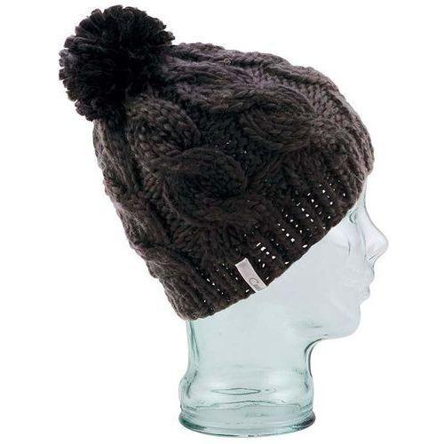 Nowa czapka the rosa beanie black -75% ceny marki Coal
