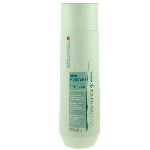 Goldwell green real moisture - organiczny szampon nawilżający 250ml