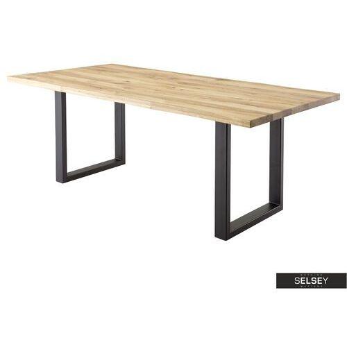 Selsey stół kitton 90x180 cm dąb lity dziki