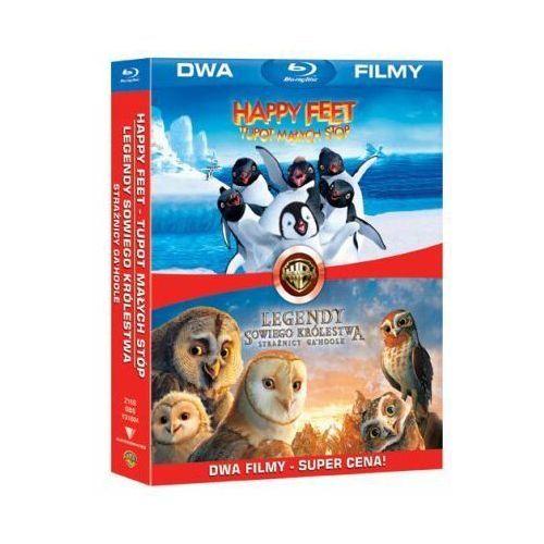 Legendy sowiego królestwa / Happy Feet, tupot małych stóp (Blu-Ray) - Zack Snyder, George Miller DARMOWA DOSTAWA KIOSK RUCHU