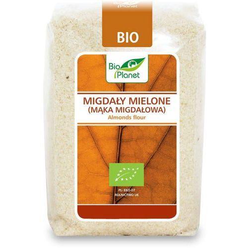 Bio planet Migdały mielone (mąka migdałowa) bio 250g -