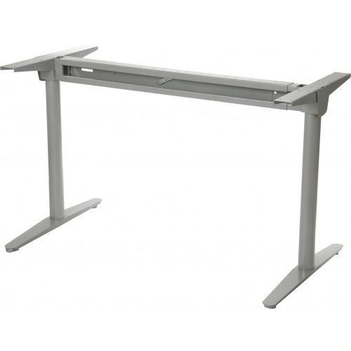 Stelaż metalowy biurka z rozsuwaną belką wt-102, kolor aluminium marki Stema - wt
