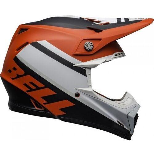 kask off-road moto-9 prophecy matt wh/red/bla marki Bell
