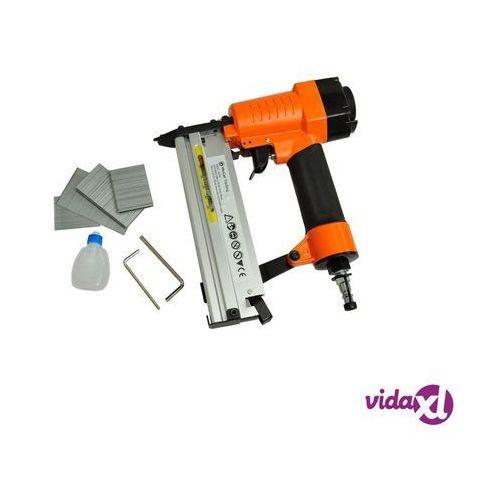 vidaXL Gwoździarka pneumatyczna, zszywacz 2w1 (8718475837091)