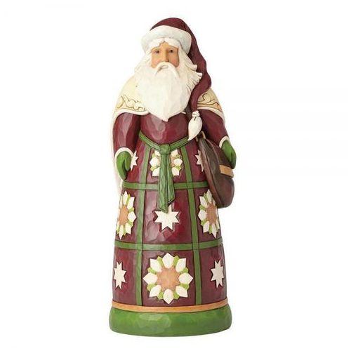 Duży mikołaj 49,5 cm santa statue 4059403 figurka ozdoba świąteczna marki Jim shore