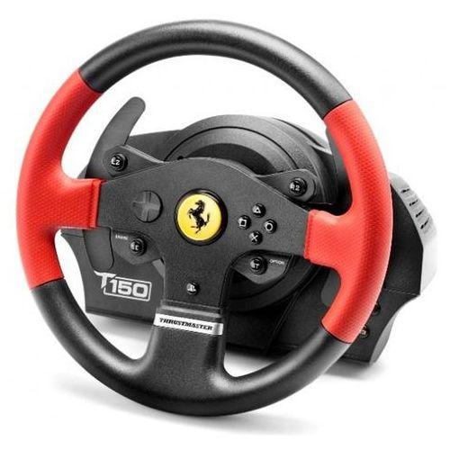 Kierownica Thrustmaster T150 Edycja Ferrari PS4/PS3/PC (4160630) Szybka dostawa! Darmowy odbiór w 20 miastach! (3362934109776)