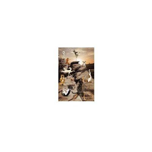 Gb Joga - zabawne figury w kanionie - psy - plakat (5028486165988)