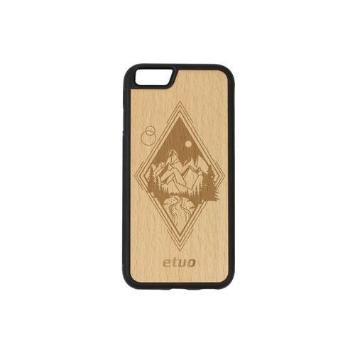 Etuo wood case Apple iphone 6s - etui na telefon wood case - buk - górski widok
