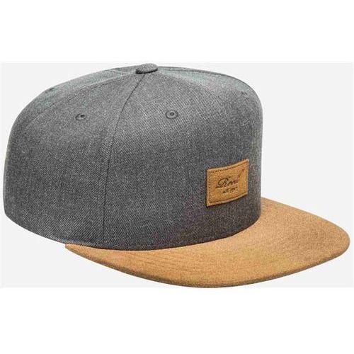 czapka z daszkiem REELL - Suede 6-Panel Cap Heather Charcoal (HEATHER CHARCOAL)