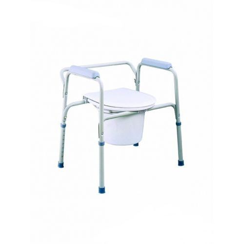 Krzesło toaletowe stałe, szare, TI-TGR-R-KT-S-668