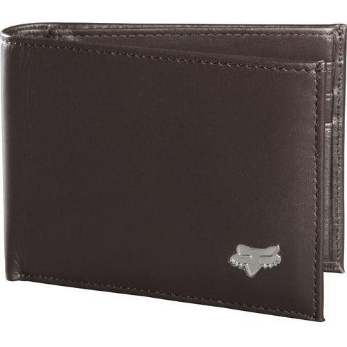 portfel męski brązowy bifold leather marki Fox