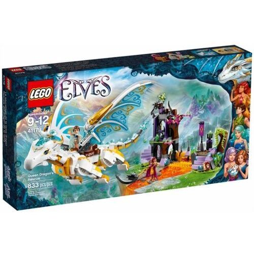 Lego ELFY Elves, na ratunek królowej smoków 41179 wyprzedaż