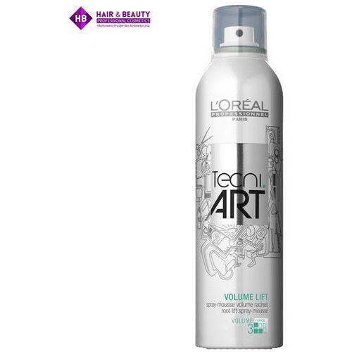 Loreal tecni art volume lift pianka do włosów w sprayu nadająca objętość u nasady 250 ml. Najniższe ceny, najlepsze promocje w sklepach, opinie.