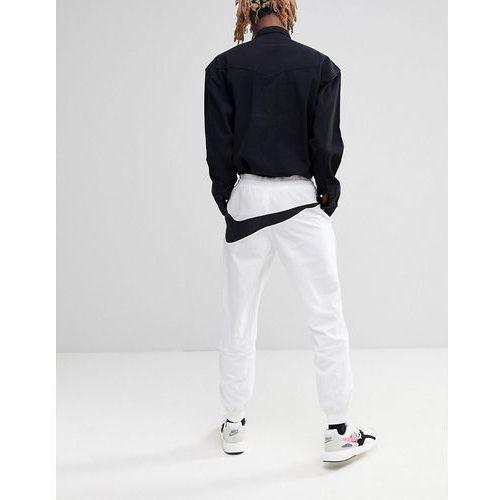 Nike Vaporwave Joggers With Large Swoosh In White AJ2300-100 - White, w 4 rozmiarach