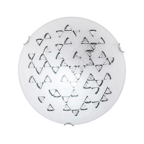 Plafon lampa sufitowa Rabalux Angie 1x60W E27 biały/czarny 3285, 3285