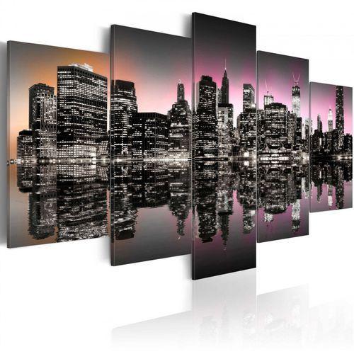 Obraz - miasto, które nigdy nie zasypia - nyc - 5 części marki Artgeist