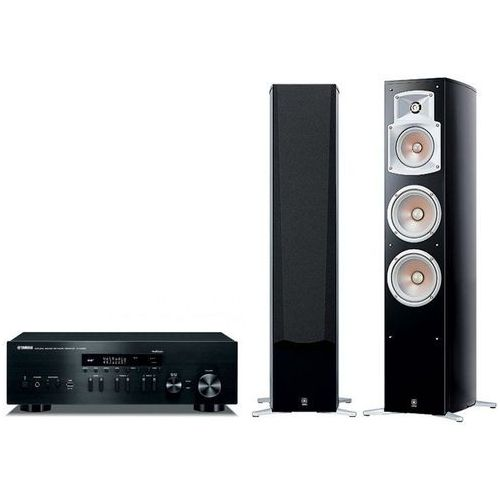 Zestaw stereo r-n402d + ns-555 (para) + darmowy transport! marki Yamaha