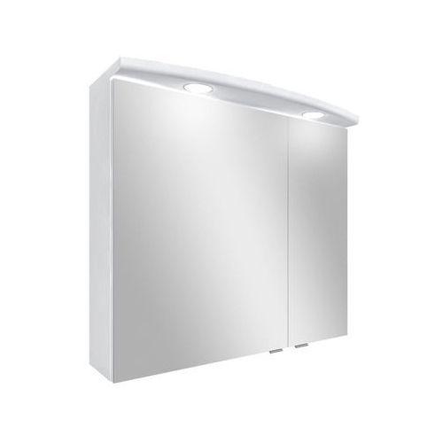 Szafka lustrzana z oświetleniem BRUNO ASTOR (5907798025909)