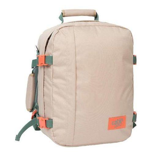 Cabinzero Plecak torba podręczna mini + pokrowiec organizer gratis - sand shell