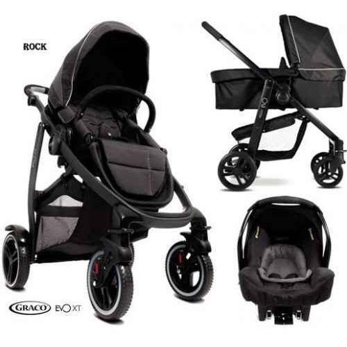 Wózke GRACO Evo XT 4w1 z Snugsafe + baza Isofix. Najniższe ceny, najlepsze promocje w sklepach, opinie.