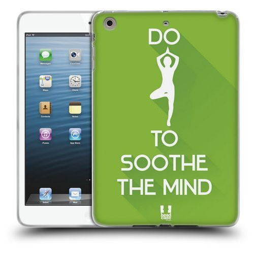 Etui silikonowe na tablet - Workout Inspirations Green Yoga
