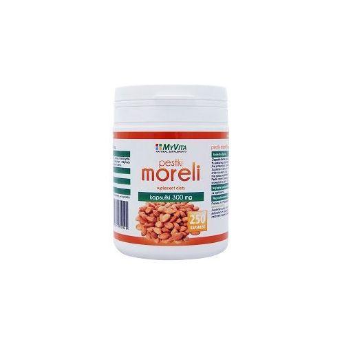 Pestki Moreli (Amigdalina, Witamina B17) 300mg (MyVita) 250 kaps.