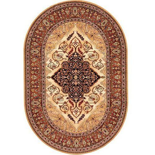 Dywan isfahan leyla bursztyn (owal) 200x300 marki Agnella