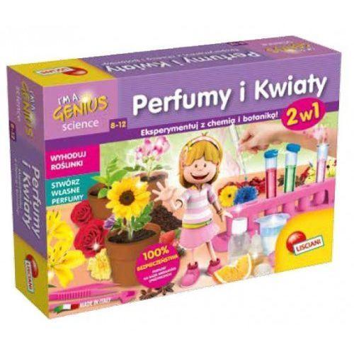 I'm a genius science perfumy i kwiaty 2w1 wiek 8-12 marki Lisciani