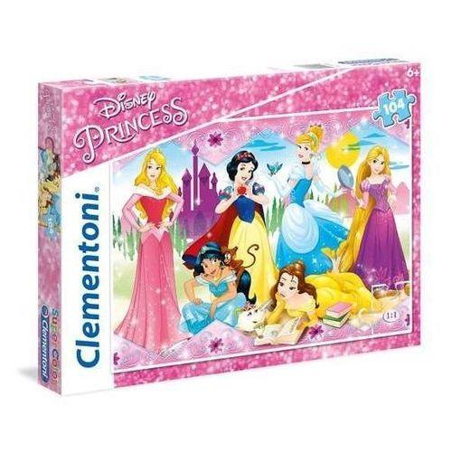 Clementoni Puzzle supercolor księżniczki 104 (8005125270866)