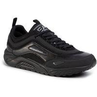 Ea7 emporio armani Sneakersy - x8x061 xk141 a083 triple black
