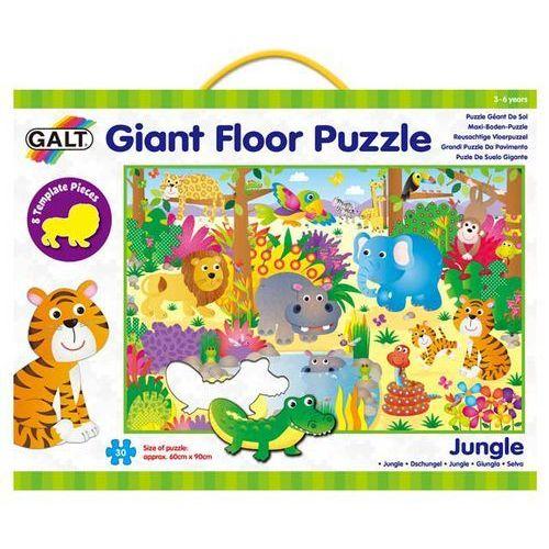Galt Wielkie puzzle podłogowe - Zwierzęta w dżungli