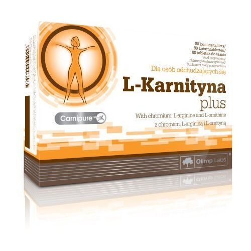 OLIMP L-Carnitine Plus - 80tab (5901330003585)