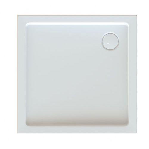 brodzik kwadratowy free line bza/free 80x80x5+stb+syfon 80x80x5cm marki Sanplast