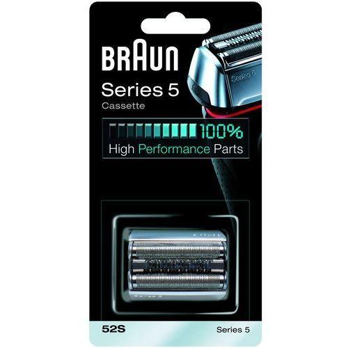 BRAUN 52S Series 5 + DARMOWA DOSTAWA + Odbiór w 650 punktach Stacji z paczką! + skorzystaj z RABATU i 3-letniej gwarancji w Pakiecie Korzyści!, 81384830