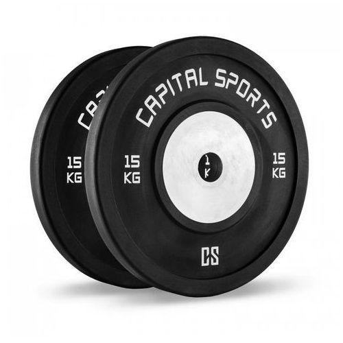 CAPITAL SPORTS Inval Hi grade Competition Obciążniki 50 mm rdzeń aluminiowy 2 x 15 kg
