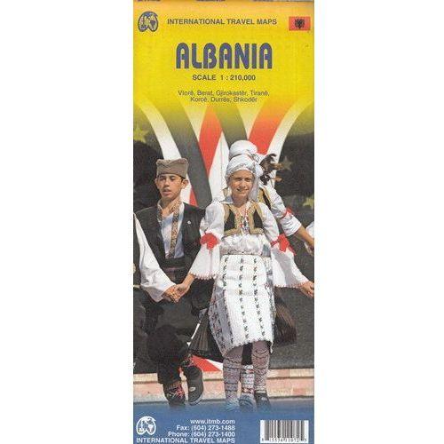 Albania mapa 1:210 000 ITMB - OKAZJE