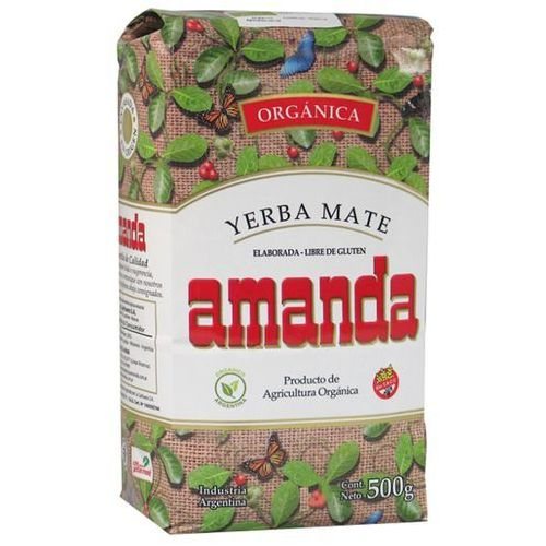 Argentyna limited 500g amanda elaborada organica | darmowa dostawa od 150 zł! od producenta Yerba mate