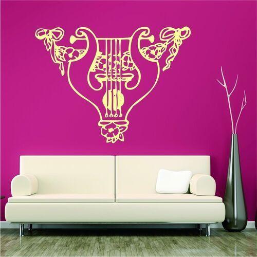 Wally - piękno dekoracji Naklejka na ścianę lita 2248