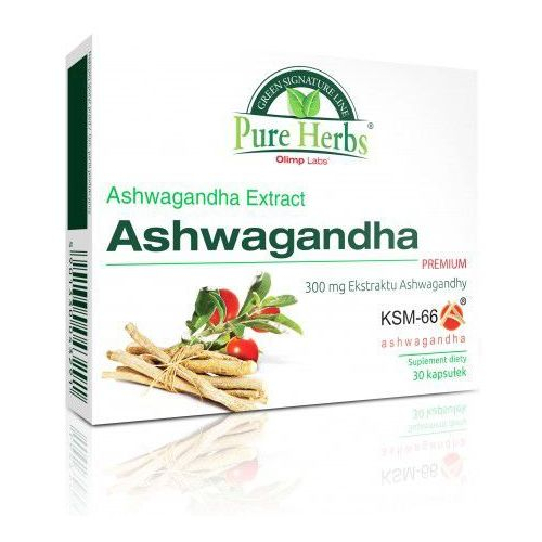 Ashwagandha PREMIUM 30 kaps. Olimp - produkt farmaceutyczny