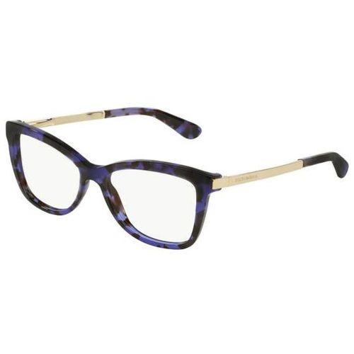 Okulary korekcyjne dg3218 sicilian taste 2890 marki Dolce & gabbana